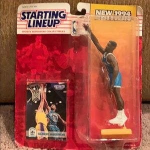 Alonzo Mourning Starting lineup figure